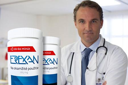 Erexan - tabletky na erekciu