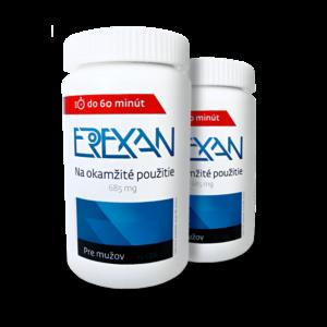 Prípravok na erekciu - Erexan